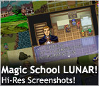 Magical School LUNAR! High-Res Screens!
