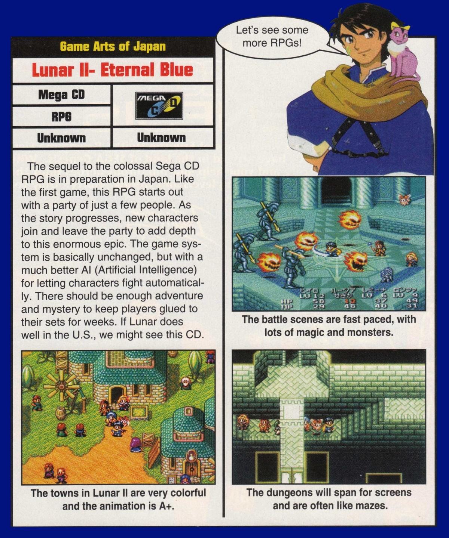 LunarNET - Lunar: Eternal Blue